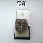 MICA 25mm natural Crystal specimens IN DISPLAYBOX